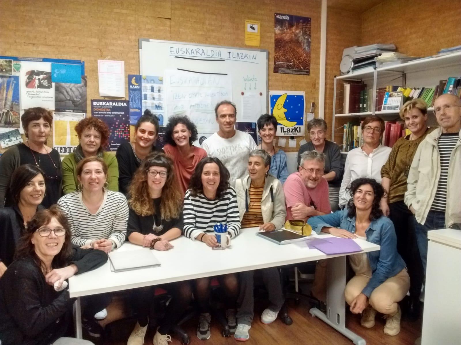 ILAZKI euskaltegia quiere ampliar su bolsa de profesores