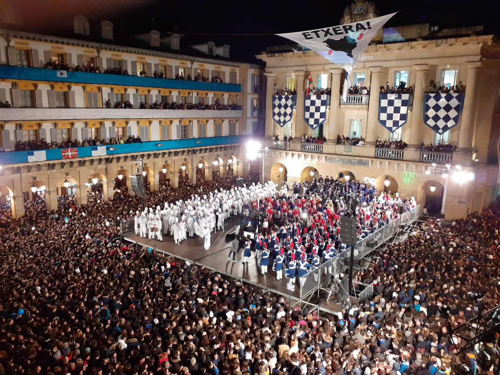 El día de San Sebastián ha sido maravilloso en Ilazki