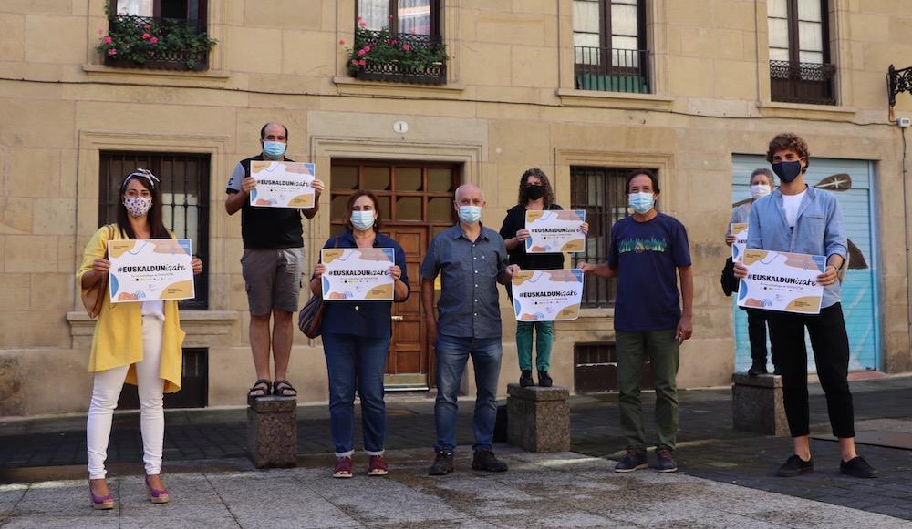 Hemos lanzado la campaña de matriculación junto a los euskaltegis de Donostia